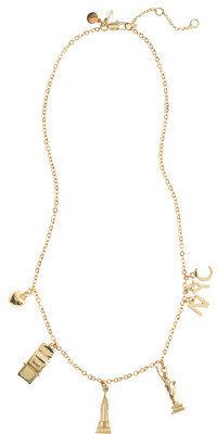 J.Crew Girls' NYC charm necklace