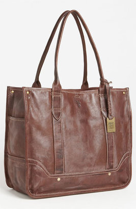 Frye 'Campus' Leather Shopper - Brown $398 thestylecure.com