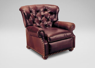 Ethan Allen Cromwell Leather Recliner