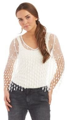 Free People Mermaid Lace Top