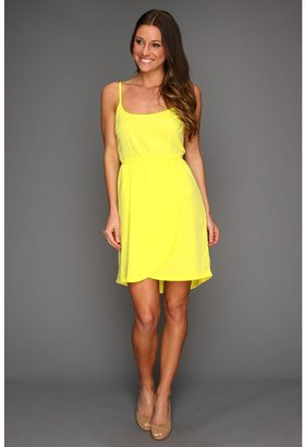 Hurley Hazel Dress (Juniors) (Citrus Yellow) - Apparel