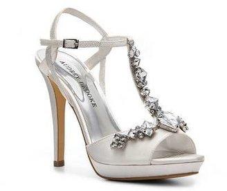 Audrey Brooke Crystal Platform Sandal