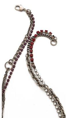 Tom Binns Calamity Charm Chain Necklace
