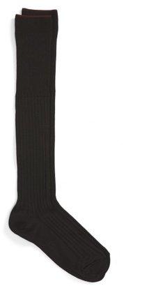 Men's Nordstrom Mens Shop Over The Calf Pima Cotton Blend Socks $14.50 thestylecure.com