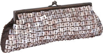 Moyna Handbags Mother of Pearl Framed Clutch