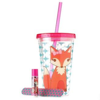 Simple pleasures 3-pc. fox reusable cup gift set