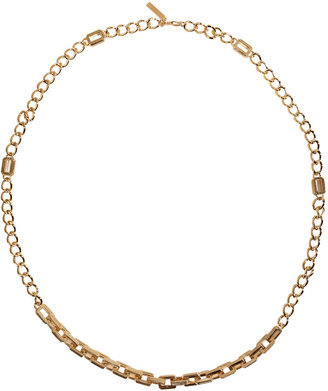 Eddie Borgo Gold-Plated Medium Supra Link Necklace