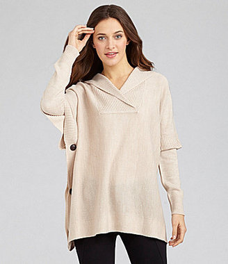 RD Style Hooded Poncho Sweater