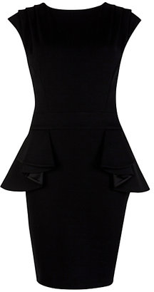 Ted Baker Judia Peplum Dress, Black