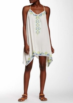 Love Stitch Embroidered Racerback Dress