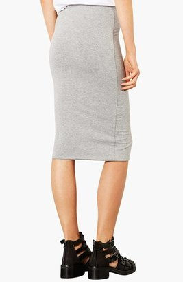 Topshop Knee-Length Tube Skirt