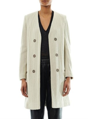 Isabel Marant Emi collarless coat