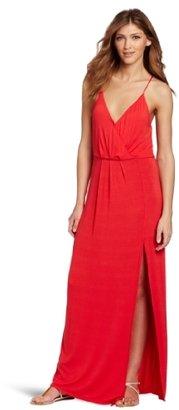 BCBGeneration Women's High Slit Maxi Dress