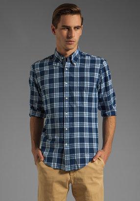 Gant Indigo Madras E-Z OBD Shirt