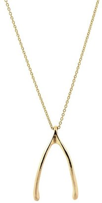 Belle Noel by Kim Kardashian Wishbone Necklace