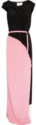 Roksanda Ilincic Hamlin paneled silk gown