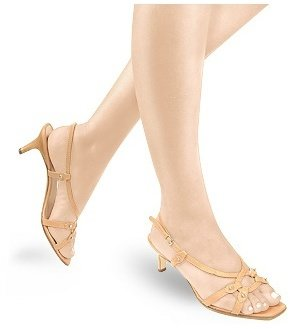 Borgo degli Ulivi Light Tan Calf Leather Slingback Sandal Shoes