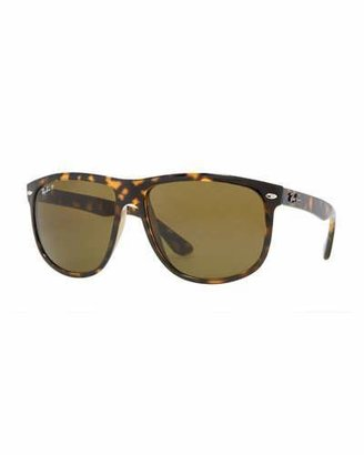 Ray-Ban Oversize Polarized Wayfarer Sunglasses