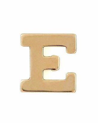 Zoe Chicco Gold Single Initial Earring