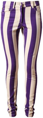 House of Holland striped skinny jean