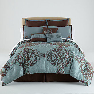 Raleigh 7-pc. Jacquard Comforter Set