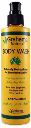 Smallflower Body Wash by Grahams Natural (8.45oz Liquid Soap)