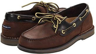 Rockport Ports of Call Perth (Taupe Nubuck/Beeswax Leather) Men's Lace up casual Shoes