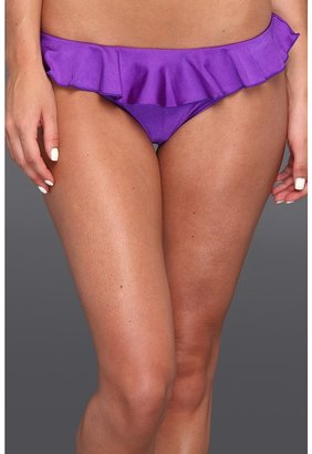 Seafolly Shimmer Hipster Pant w/ Frill (Salsa) - Apparel