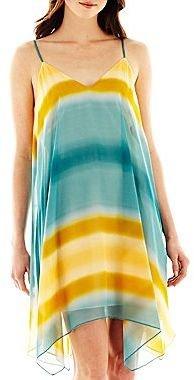 Allen B. Dip-Dyed Shift Dress