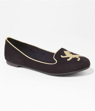 Express Embroidered Lion Tuxedo Flat