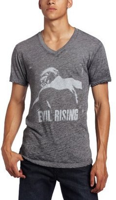 Kinetix Men's Batman The Dark Knight Evil Rising V-Neck T-Shirt