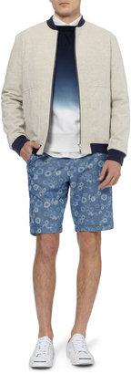 Hentsch Man Woven-Cotton Bomber Jacket