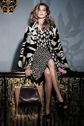 Diane von Furstenberg Daphnis Wool Cocoon Coat