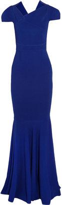 Roland Mouret Jarndyce stretch-crepe gown