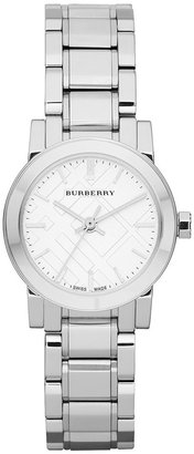 Burberry Watch, Women's Swiss Stainless Steel Bracelet 26mm BU9200 $495 thestylecure.com