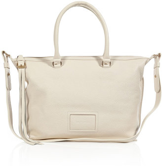 See by Chloe Convertible Leather Tote in Milk