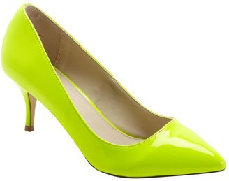 Neon Point Court Shoes