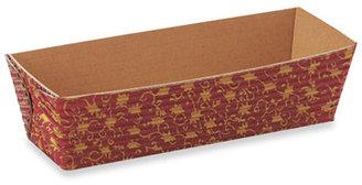 """Bed Bath & Beyond Welcome Home Brands Oven-Safe Paper 4.2"""" Mini-Loaf Pans - Leaf (Set of 12)"""