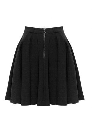 CeCe Zip Pocket Full Mini Skirt