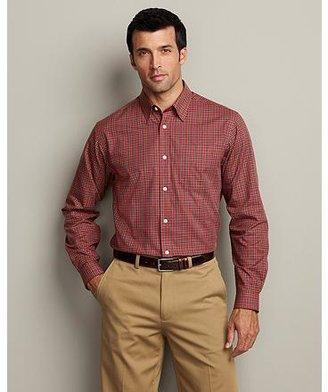 Eddie Bauer Classic Fit Wrinkle-Free Sportsman Twill Shirt
