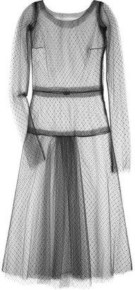 Rochas Sheer tulle dress