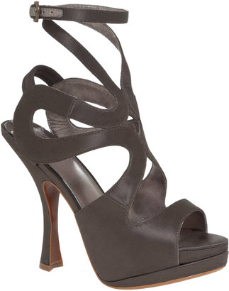 Max Studio Xvib - Satin Stacked High-Heels