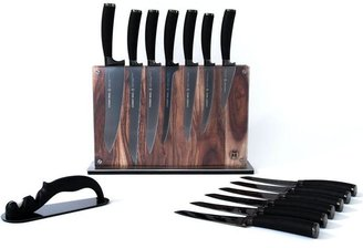 Schmidt Brothers 15-pc. Titan Cutlery Set with Block and Stone