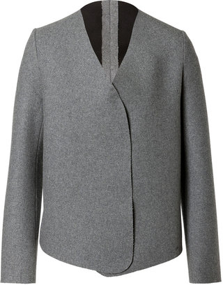 J.W.Anderson Wool Blend Sponge Wrap Jacket