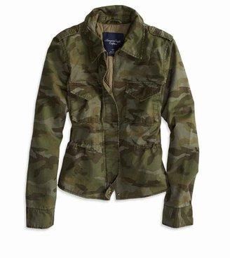 Camo AE Cropped Jacket