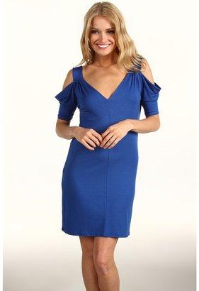 Rachel Pally Bowie Cold Shoulder Print Dress