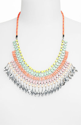 Topshop 'Rhinestone Bling' Statement Necklace