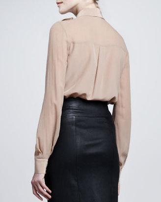 Rachel Zoe Capri Long-Sleeve Blouse