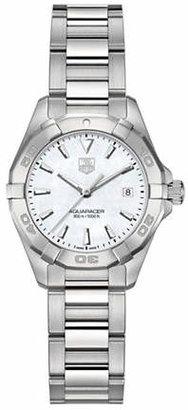 Tag Heuer Ladies Aquaracer Stainless Steel Bracelet Watch WAY1412BA092