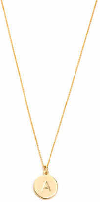Kate Spade New York Letter Pendant Necklace $58 thestylecure.com